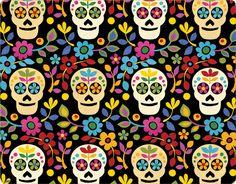 Dia de Los Muertos inspired