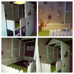 Ideeen kinder slaapkamer on Pinterest  Kura Bed, Ikea Kura Bed and ...