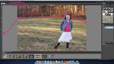 start to finish editing in photoshop elements by Melissa Gibson