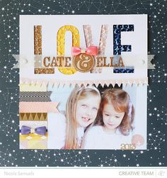 Cate & Ella *NEW ATLANTIC collection* layout by Nicole Samuels at Studio Calico