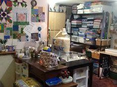 Redid my sewing room 8/2015