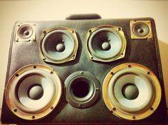 Briefcase Speaker Box.