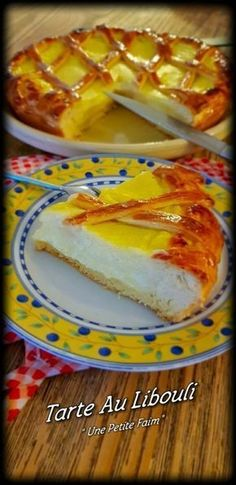 Tarte Au Libouli | Une Petite Faim Mini Desserts, Easy Desserts, Hot Dog Buns, Biscuits, French Toast, Bakery, Sweet Treats, Brunch, Food And Drink