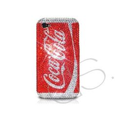 Amazon.com: Coca-Cola Bling Swarovski Crystal iPhone 4 and 4S Cases: Cell Phones & Accessories  I love this