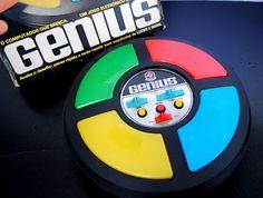 Brinquedo Simbolo dos anos 80 - Genius ou Simon (Game) = simbolo do Google Chrome