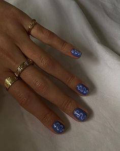 Cute Acrylic Nails, Gel Nails, Nail Polish, Stylish Nails, Trendy Nails, Nail Ring, Nail Jewelry, Funky Nails, Fire Nails