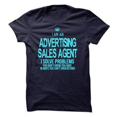 I am an Advertising Sales Agent T-Shirts, Hoodies. SHOPPING NOW ==► https://www.sunfrog.com/LifeStyle/I-am-an-Advertising-Sales-Agent-18653057-Guys.html?id=41382
