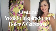 Costura do vestido inspirado no Dolce & Gabbana  |Maria Condessa  #mariacondessa  #vestidodeverão #dolce #vestidodeviscose #ateliêdecostura Dolce E Gabbana, Youtube, Dresses, Fashion, Shirred Dress, Dress Template, Neckline, Viscose Dress, Templates