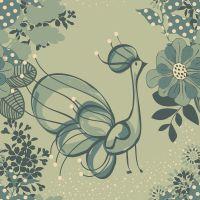 Pattern pavão