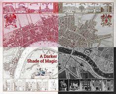 A Darker Shade of Magic & A Gathering of Shadows - London Map