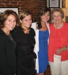 Production Assistant Grace with her sister, Mom and Grandma – 3 generations!