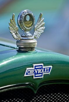 1928 Chevrolet Stake Bed Pickup Hood Ornament