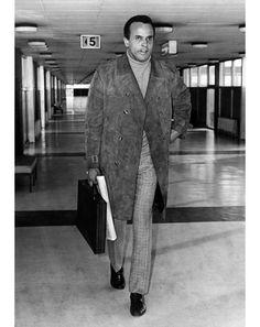Harry Belafonte  b. 1927 Singer, actor, civil rights activist Left: 1969, London Heathrow Airport