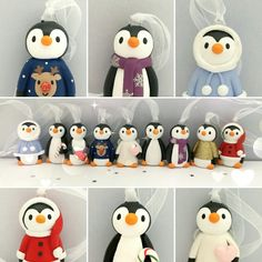 Christmas penguins for 2017 all one of a kind x. I NEED THESE!!!