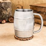 Personalized Beer Lovers Keg Mug: ForeverWed, Wedding Favors