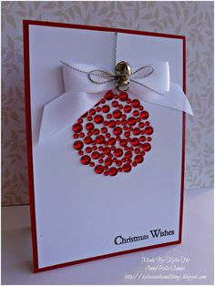 DIY Christmas cards lend a personal air to your holiday greetings. Making personal greeting cards is a festive and easy way to celebrate the holidays. Check out these DIY Christmas cards ideas & tutorials we've rounded up for you. Homemade Christmas Cards, Christmas Cards To Make, Homemade Cards, Handmade Christmas, Christmas Tree, Homemade Gifts, Diy Christmas Baubles, Christmas Abbott, Christmas Branches