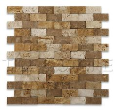 Mixed-Travertine-1-X-2-Split-Faced-Brick-Mosaic-Tile