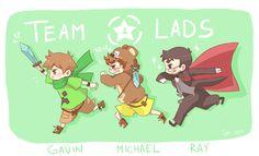 TeamLads by xxakikochanxx.deviantart.com on @DeviantArt