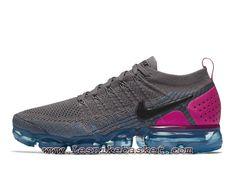 8c745b5506b Running Nike Air VaporMax Flyknit 2.0 Gunsmoke Blue Orbit 942842 004  ChaussuresOfficiel 2018 Pour HOmme Gris