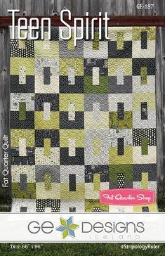 Teen Spirit Quilt Pattern by G.E. Designs - October 2017