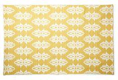 Mayla Flat-Weave Rug, Yellow on OneKingsLane.com