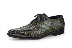 "Mauri - ""1022"" Hand Painted Alligator/Hornback Dress Shoe"