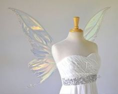 Titania fairy wings with Swarovski crystals by FaeryAzarelle