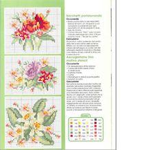Bouquet de fleurs Images Aléatoires, Cross Stitch Patterns, Crochet Patterns, Stencil, Free Pattern, Projects To Try, Knitting, Gardening, Embroidery