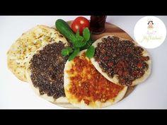Manaisch |kleine arabische Minipizzen | Manakish |مناقيش | Manaeesh | Love my Kitchen - Leckere Rezepte aus aller Welt