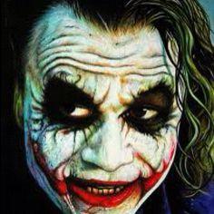 Heath Ledger as Joker Acrylics on paper art Joker Iphone Wallpaper, Joker Wallpapers, Hd Wallpaper, Joker Painting, Joker Face Paint, Joker Heath, Heath Ledger Joker Makeup, Joker Ledger, Joker Images