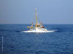 GREEK TRADITIONAL FISHING BOAT (GREECE, AEGEAN-SEA, MILOS-ISLAND)