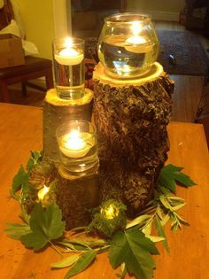 DIY Enchanted Forest centerpieces - Album on Imgur