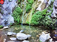 Santa Barbara Hikes - San Ysidro Trail - Waterfall