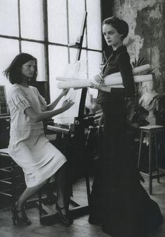 Marta Berzkalna and Lisa Cant by Paolo Roversi