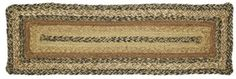 KETTLE GROVE BRAIDED JUTE STAIR TREAD SETS By VHC BRANDS. CHOOSE YOUR QUANTITY #Vhcbrands #Braidedcountryprimitiverusticfarmhouse