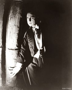 Fabulous Bela Lugosi publicity still for Dracula, 1931. From Boutique Horror-Horror Boutique