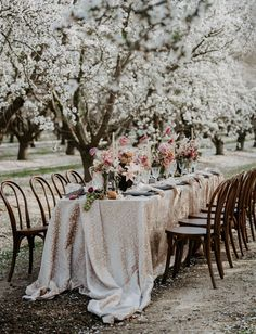 Cherry Blossom Wedding Inspiration Wedding Lounge, Wedding Chairs, Wedding Sets, Wedding Reception, Reception Ideas, Whimsical Wedding Cakes, Whimsical Wedding Inspiration, Woodland Wedding, Alice In Wonderland Wedding