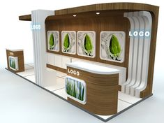 exhibition stand - st0014 3d model max 5