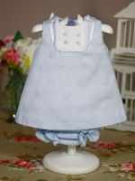 jesusito blue two-piece baby clothes