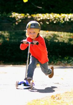 Tip: Packing a kid's scooter makes travel more fun. The Micro Mini Kickboard even breaks down for packing.