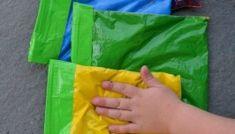 Rainbow Sensory Bags - Mess free! Sensory Bags, Baby Crafts, Rainbow, Free, Sewing, Gifts, Diy, Rain Bow, Rainbows