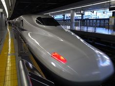 The fast bullet train is the convenient way to travel between the two biggest city in Japan (Tokyo-Osaka)