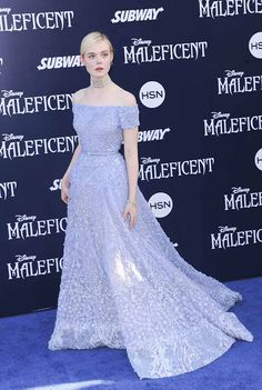 Elle Fanning's Gorgeous Elie Saab Gown At The Maleficent Premiere Proves She's The Fairest Of Them All