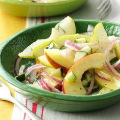 Fresh Apple & Pear Salad Recipe