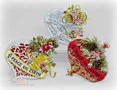 Ornament Shaped Christmas Greeting Cards - Send fun and uniquely shaped ornaments cards this holiday season using the Noel Ornament Die from Heartfelt Creations! Pin now! Silver Christmas, Christmas Tag, Christmas Greeting Cards, Christmas Greetings, Handmade Christmas, Christmas Crafts, A Christmas Story, Christmas Themes, Easy Ornaments