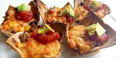 Tex Mex Salsa tortilla quiches met gehakt - Knutselen in de Keuken