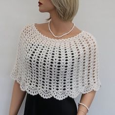 Bohemian Beaded Bridal Cape with Tulips, Floral Wedding Lace Bolero, Crochet Boho Poncho, Openwork Victorian Capelet, Bridal Lace Cover up Poncho Shawl, Capelet, Knitting Yarn, Hand Knitting, Crochet Shawl, Knit Crochet, Crochet Teddy, Bridal Shrug, Bridal Cape