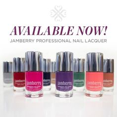 Jamberry Professional Nail Lacquer, including 12 gorgeous colors, 2 base coats, and 3 top coats! www.jamwithannie.com