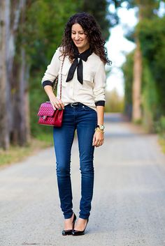 aritzia-silk-asos-bow-7 by Alterations Needed, via Flickr