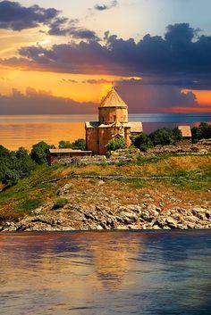 10th century Armenian Orthodox Cathedral of the Holy Cross on Akdamar Island, Lake Van Turkey 50
